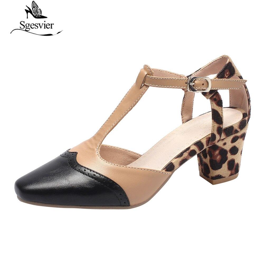 666f5588 Sgesvier 2019 verano tacón zapatos de mujer gris Beige zapatos de tacón  alto zapatos de punta sandalias Plus tamaño 33- 46 G228