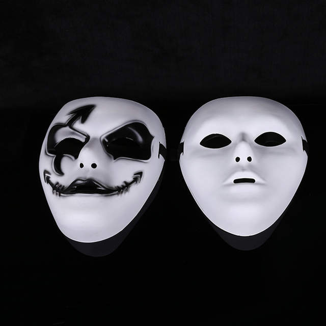 US $1 63 58% OFF|So Cool! white jabbawockeez Face masks Halloween Party  Mask Masquerade Hip Hop Ghost Dance Fancy Dress Costume Mask HG0167-in  Party