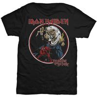 OKOUFEN Custom T Shirt Design Short Sleeve Graphic O Neck Mens Iron Maiden Number Of The