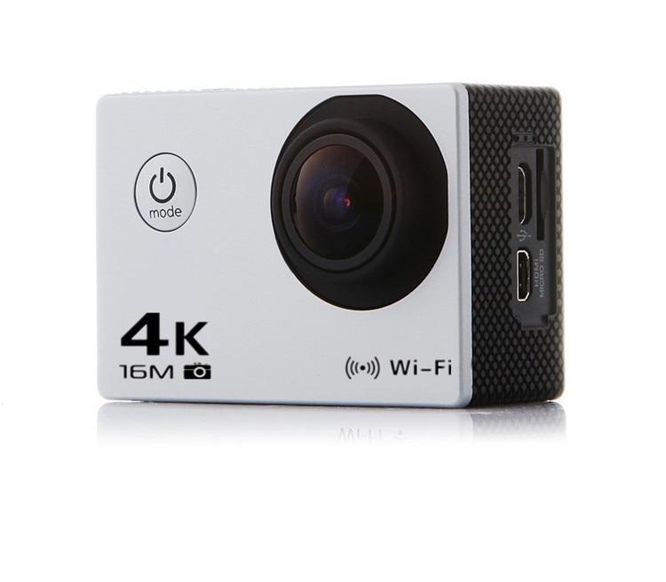 ФОТО 4K 30FPS 12 Million Pixels 170 Degree Wide-angle Clear WiFi Smart Waterproof Mini Action Camera