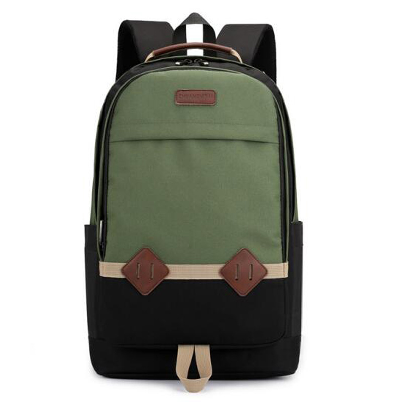 Men and Women Backpack Stitching Backpack for Teenagers Casual Backpack Student bag Computer Backpack Schoolbags mochila 5