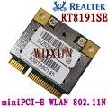 RealTek RTL8191se Hlaf Mini Pci-e wifi плата Беспроводная WLAN карта 802.11b/g/n 2,4 ГГц 150 м
