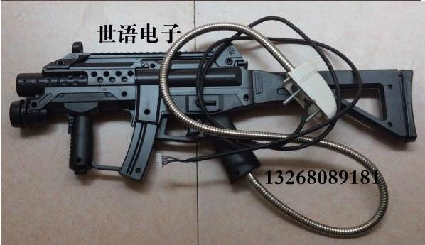The 3 Generation of the Haunted House Gun / Haunted House 3 Generation laser Pistol Gun / Haunted House 3 Liquid Crystal gun