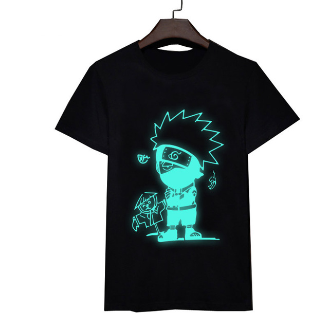Naruto Glowing T-Shirts Akatsuki