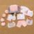 18 PCS/Presente/Set bebê recém-nascido roupas de menina e menino 0-6 meses Do Bebê Do Algodão de manga longa Conjunto de roupas dos desenhos animados Infantis Roupas Bonito