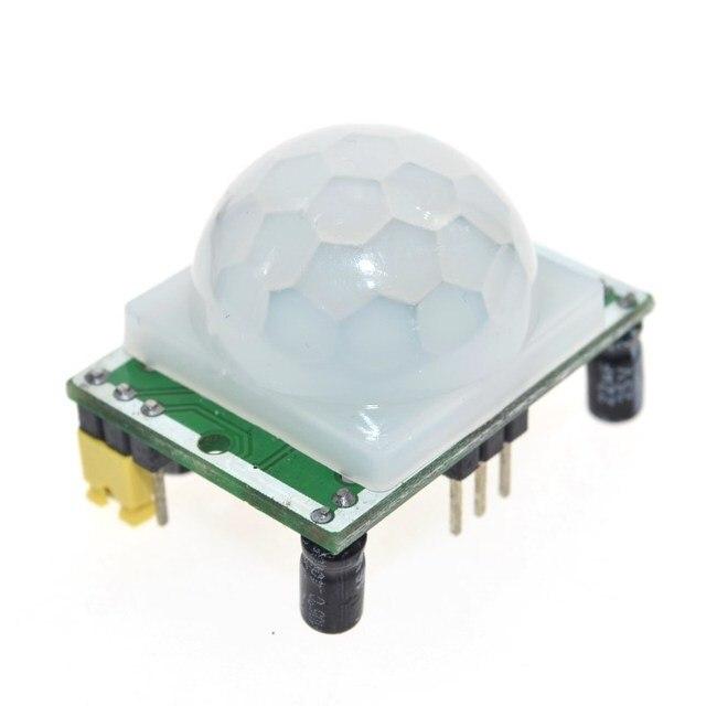 Free Shipping HC-SR501 Adjust Infrared IR Pyroelectric Infrared PIR module Motion Sensor Detector Module We are the manufacturer