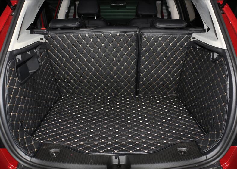 Good mats! Special trunk cargo mats for Buick Encore 2017 waterproof cargo liner boot carpets for Encore 2016 2013,Free shipping