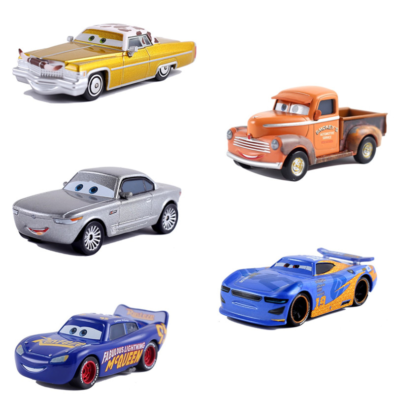 Disney Pixar Car 3 Role Mater Smokey's DINOCO Cruz Air Plane Jackson Storm Ramirez 1:55 Die Cast Metal Alloy Children's Toy Car