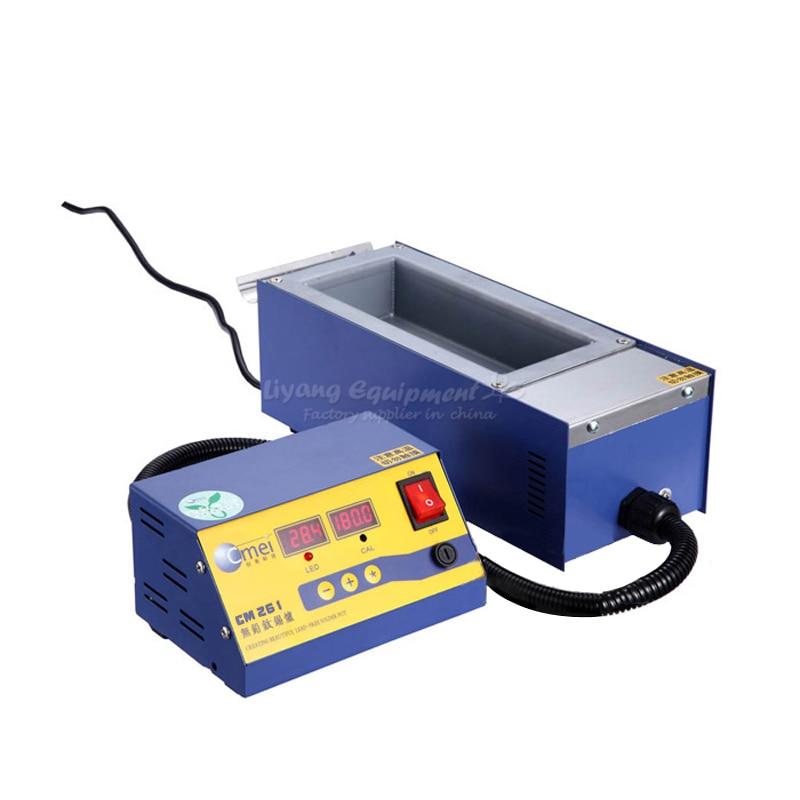 Melting tin furnace, no lead small pot, split type tin pot, mini soldering furnace tin pot CM-261 B00016