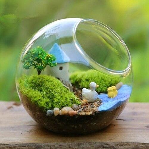 1 Bag Blue Sand For Miniatures Fairy Garden Moss Terrarium Decor
