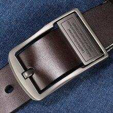 JSJ belt men leather belt men male genuine leather strap luxury pin buckle belts for men cintos masculinos 2018 luxury long genuine leather strap men large size belt vintage brand pin buckle belt for men jeans cintos 140cm 150cm 160cm