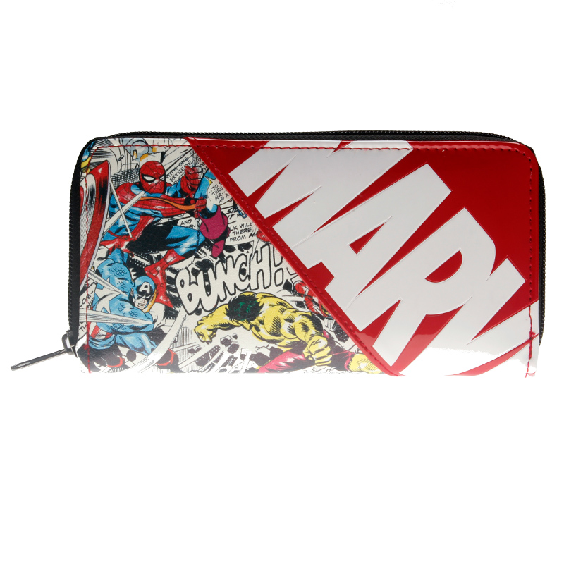 Marvel Letter Zip Around Wallet Women Purse DFT-1887