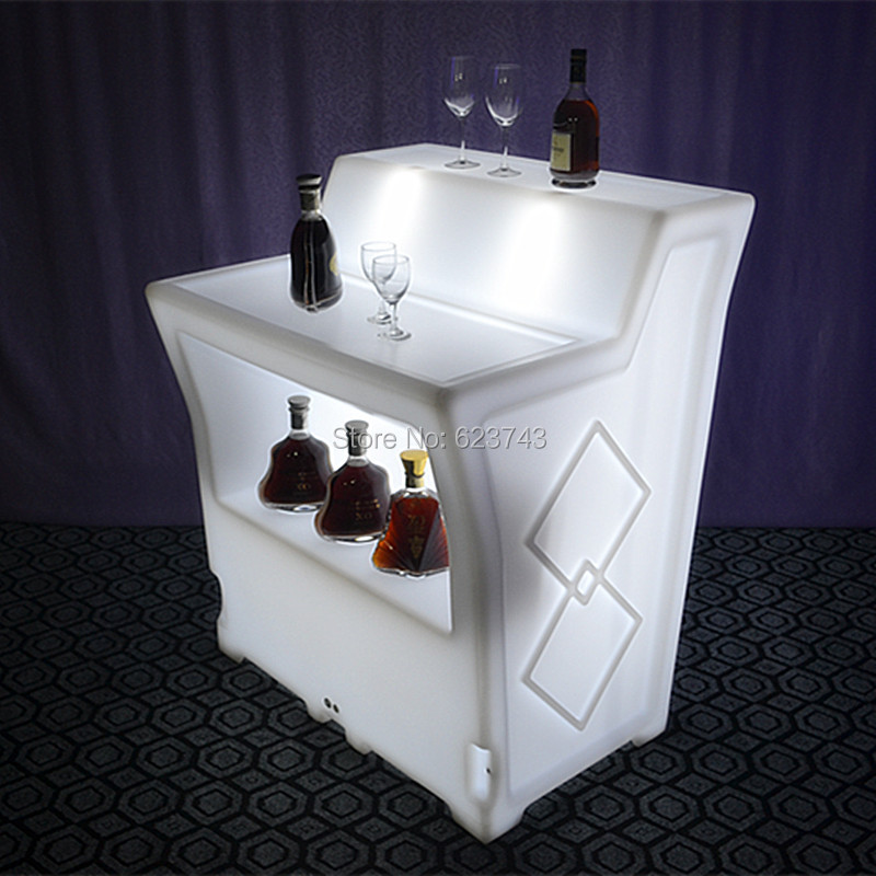 Popular bar counter table buy cheap bar counter table lots for Bar lumineux
