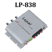 Mini Amplifier 2 1 Channel Car Power Stereo Audio Amplifier For MP3 MP4 Car Motorcycle Super