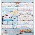 18 unids conjunto Infantil ropa de bebé unisex del invierno del bebé ropa de bebé ropa infantil ropa de bebé pijama bebe ropa de regalo TZ35