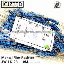 200 pçs/saco 3 w 1% 3 w resistor de filme mental 1% 220 k 240 k 270 k 300 k 330 k 360 k 390 k 430 k 470 k 510 k 560 k 620 k 680 k 750 k 820 k k k k k 910 k 1 m