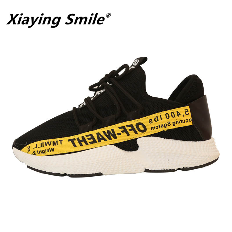 Xiaying Smile Comfortable Shoes Women Street Section Studentst Shoes All Match Ulzzang Walking Shoes Fitness Mode Travel Shoes