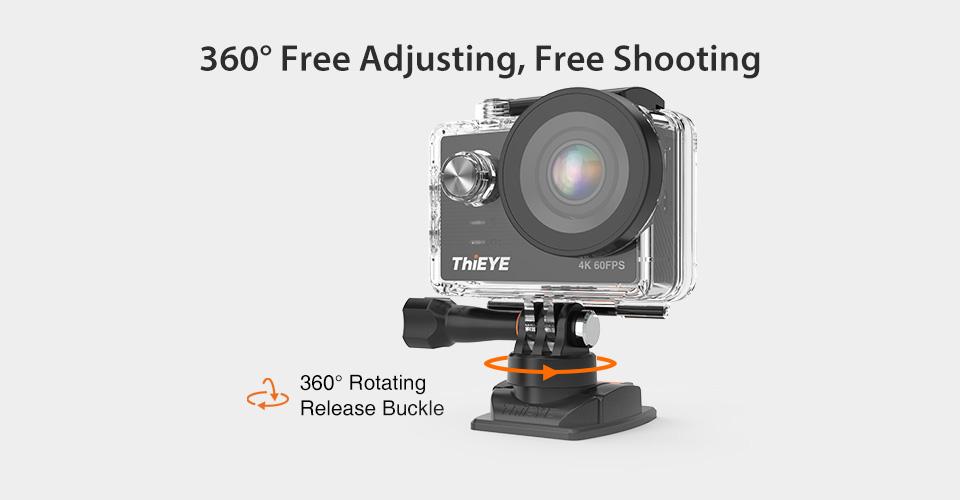 ThiEYE T5 Pro Real Ultra HD 4K 60fps 12