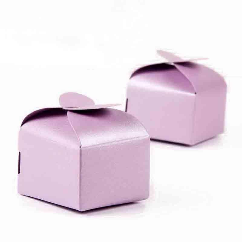 6x6x4cm Heart Gift Candy Boxes Bonbonniere Wedding Party Favor Candy Box Baby Shower Favor Box 100pcs