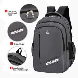 Image 3 - אופנה תרמיל 2020 גברים תרמיל מחשב נייד תיק פנאי נסיעות בית ספר נער כתף תיק Bagpack Backbag מוצ ילאס זכר