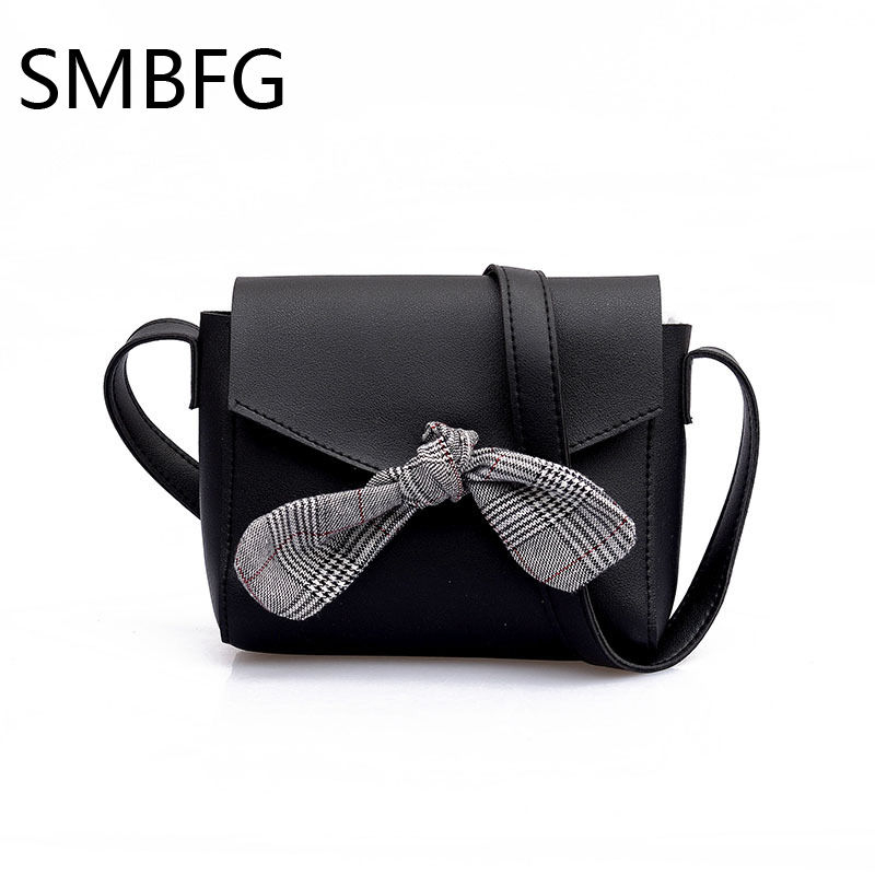 Women Handbag with Bow Female PU Leather Small Bags Handbags Ladies Portable Shoulder Bag Office Ladies Hobos Bag 2018 New 3