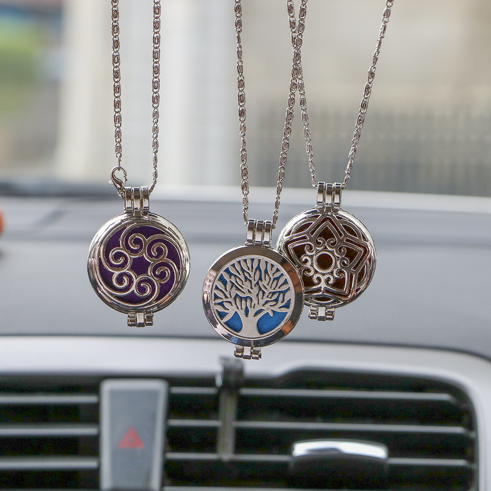 Car Air Freshener Antique Vintage for Essential Oil Aroma Diffuser Rear View Hanging Pendant Auto Rearview Mirror Perfume