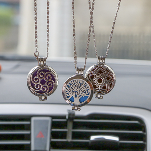 Car Air Freshener Antique Vintage for Essential Oil Aroma Diffuser Rear View Hanging Pendant Auto Rearview Mirror Perfume(China)