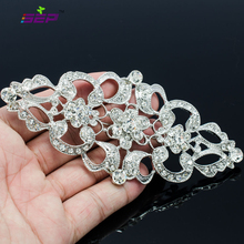 Vintage Style Rhinestone Crystal 5 1inches Big Brooch Pins Women Jewelry Accessories Bridal Wedding Bouquet XBY125