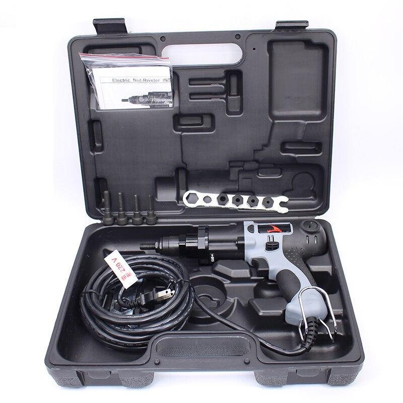 Высокое качество YSM10 M4/M5/M6/M8/M10 220 В электрические заклепки пистолет Электрические заклепочный Инструмент Электрические клепальщик Gun