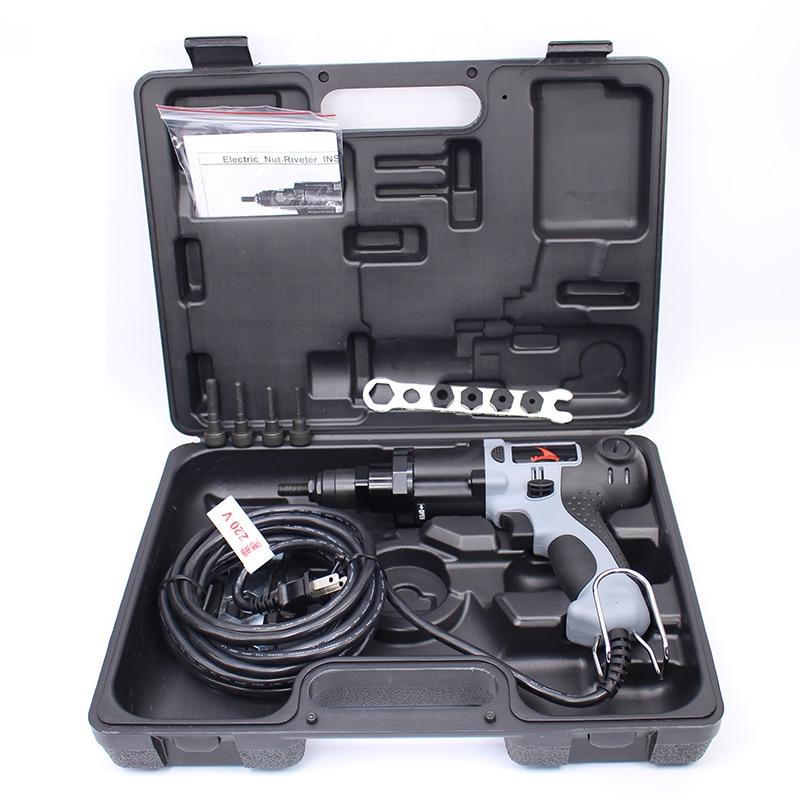 Kvaliteetne YSM10 M4 / M5 / M6 / M8 / M10 220 V elektriline needi mutrirelv Elektriline neetimisriist Elektriline neetimispüstol