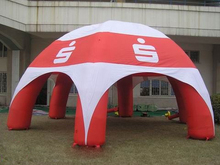 6 legs cover cloth inflatable spider tent for advertising with advertising logo