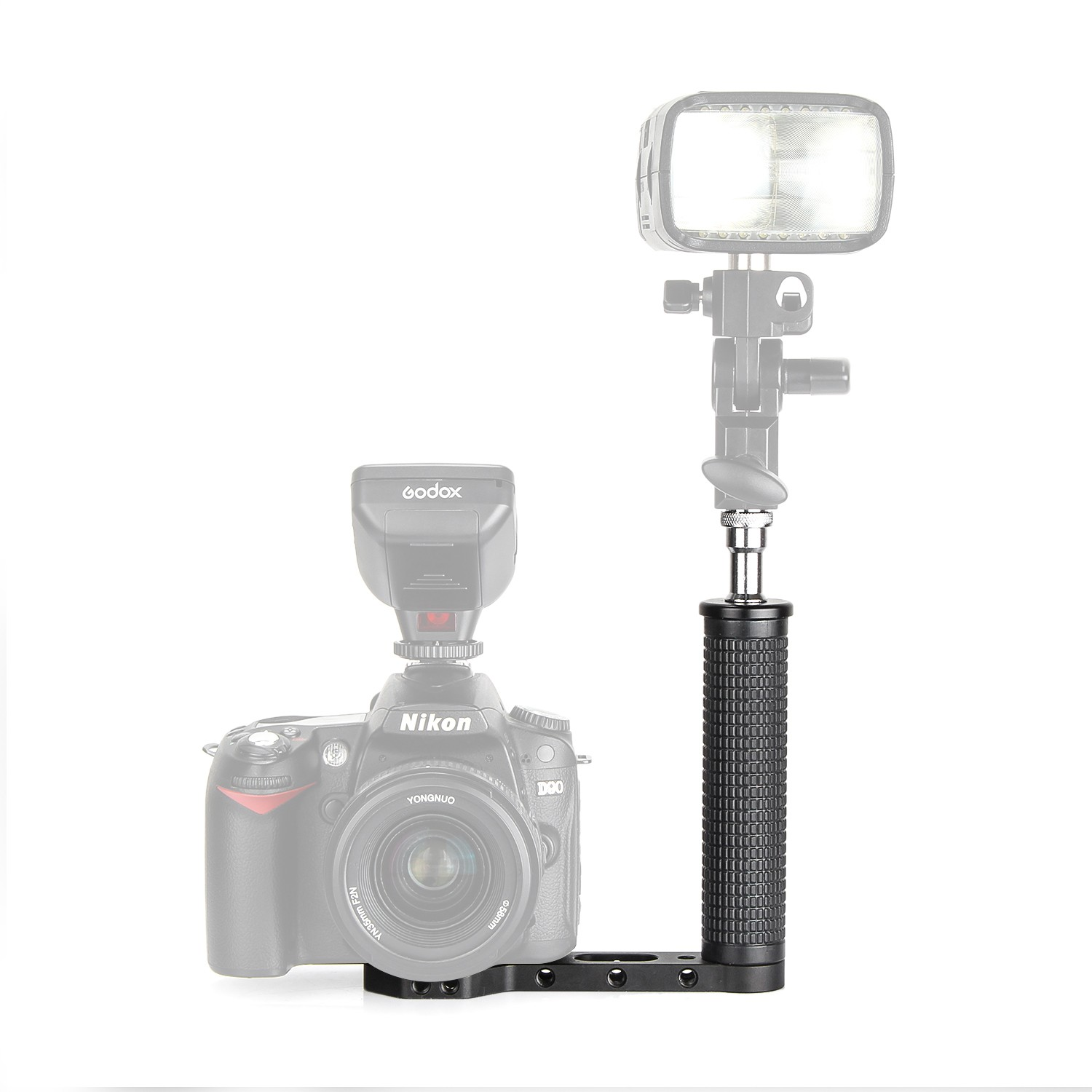 On Camera Flash Bracket Grip for Godox AD200On Camera Flash Bracket Grip for Godox AD200