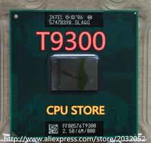 Intel core 2 duo t9300 2,5 ghz 6 mt 800 mhz prozessoranschluss p slayy slaqg cpu (arbeiten 100% Freies Verschiffen)