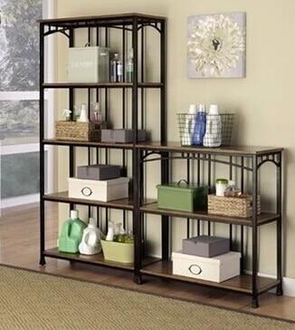 American Iron Kitchen Shelf Vintage Wood Shelf Storage Rack Shelf