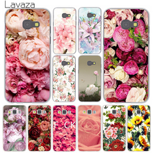 Lavaza Peony Sunflowe Rose Daisy Plum Plants Flower Case for Samsung Galaxy A3 A5 J3 J5 J7 Prime 2015 2016 2017 Note 5 4 2