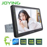 JOYING PX5 Octa 8 Core Stereo 10 1 Single Din Android 6 0 Car Radio Audio