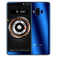 "VKworld S8 4G 5,99 ""FHD + 18:9 Vollbild Gesicht ID 16MP + 13MP 5500 mAh Octa-core 4 GB + 64 GB Dual Zurück Nocken Android 7.0 Handy"