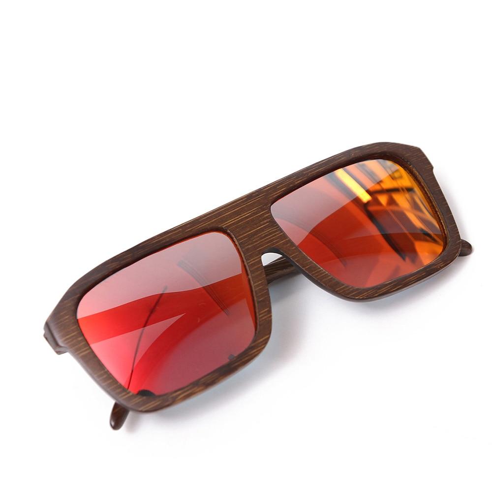 Ochelari de soare din bambus cu vânzare la cald, ochelari de soare - Accesorii pentru haine - Fotografie 3