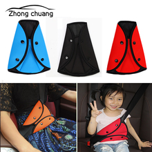 купить Car seat belt cover, sturdy, adjustable triangle safety seat belt, pad, clip, baby, child protection, car styling, car supplies дешево