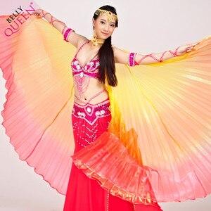 Image 5 - 2019 באיכות גבוהה בטן איזיס עבור נשים נחמד מצרים סגנון שיפוע צבע ריקוד כנפי עבור שלב להראות אבזרי isisWings