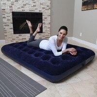 67002 137*190*25CM Air Mattress Air Bed Camping Mat Picnic Mat Sleeping Pad Colchoneta Inflatable Bed With Electric Pump