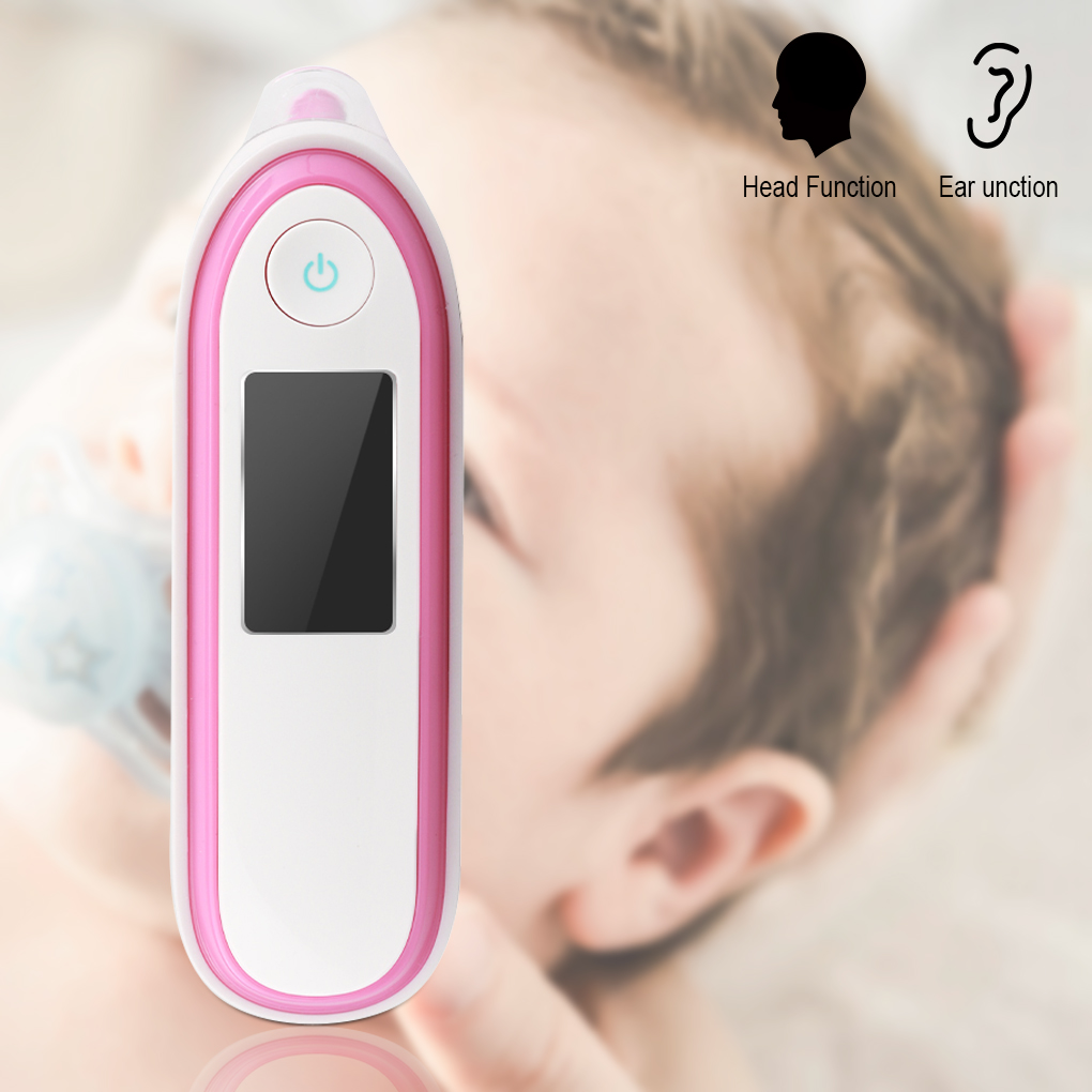 Infant Baby Body Thermometer Child Portable Infrared Thermometers Non contact LCD Digital Temperature Measurement Tool Handheld