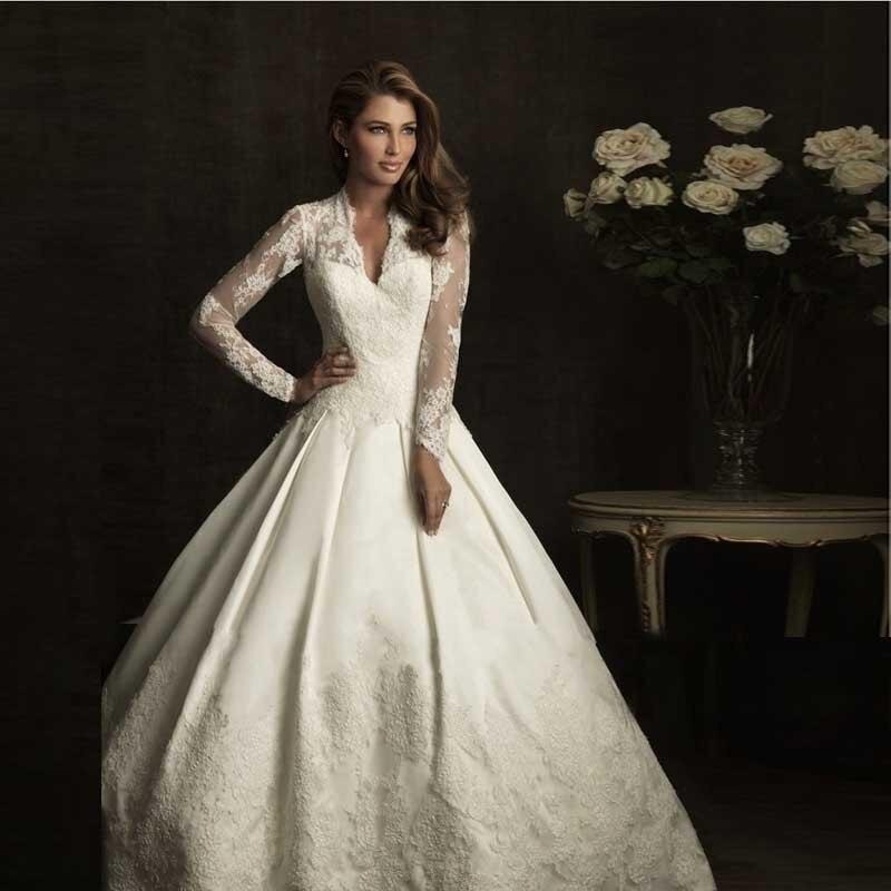 Online Kaufen Großhandel Kate Middleton Hochzeitskleid Aus China