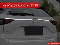 For Mazda CX 5 CX5 KF 2017 2018 Refit Rearguard Trunk Rear Bumper Tail Box Door
