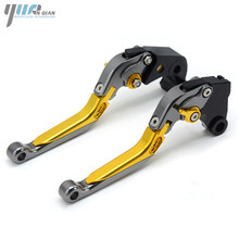YUANQIAN High CNC Adjustable Extendable Brake Clutch Levers For MV Agusta Rivale 800 & Dragster 800/RR & Brutale 675 2014 2016