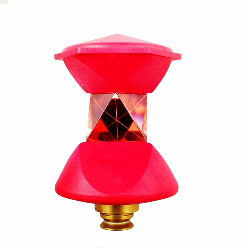NEW red 360 Degree Reflective Prism for Robotic Total Station new style or 5/8