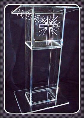 Pulpit Furniture Free Shipping Simple Elegant Acrylic Podium Pulpit Lectern Acrylic Pulpit Podium