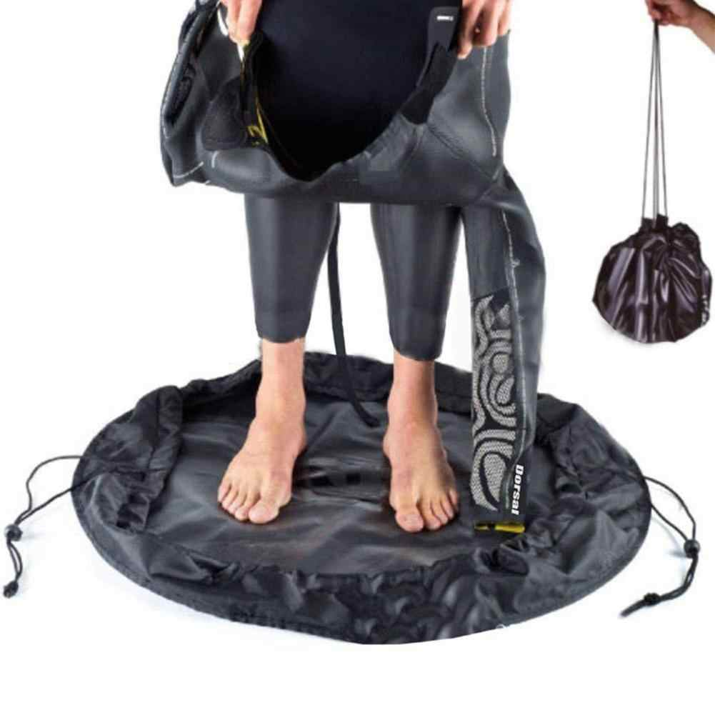 Pantai Baju Renang Tas Penyimpanan Wetsuit Penyimpanan Cover Tahan Air Surfing Suit Tas Aksesoris Renang Penyimpanan Pakaian