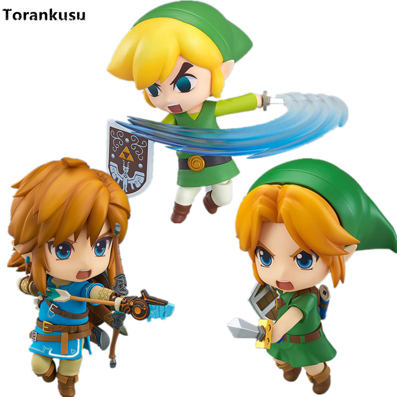 The Legend of Zelda Nendoroid Breath of the Wild Majora's Mask 100mm Model Toys PVC Action Figure Zelda Link Nendoroid Toy Doll legend of zelda action figure toys 10cm pvc nintendo 3ds zelda manga figma zelda link vinyl doll