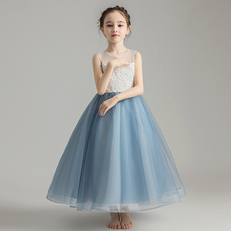 2019 New Fashion Children Girls Mesh Tutu Princess Dress Toddler Girl Clothes Vestidos Kids Dresses For Girls Wedding Party L3972019 New Fashion Children Girls Mesh Tutu Princess Dress Toddler Girl Clothes Vestidos Kids Dresses For Girls Wedding Party L397